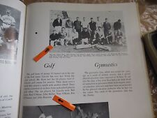 JOHN MILLER/GOLFER/LAURIE WALTERS/ACTRESS/ORIGINAL 1962 LINCOLN HIGH YEARBOOK/