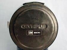 OLYMPUS OM ZUIKO 20mm F2 38mm F2.8 MACRO LENS CASE