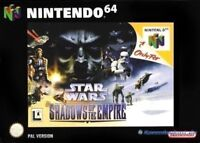 N64 Star Wars: Shadows of the Empire  / Zustand auswählbar