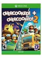 Overcooked! 1 & 2 Bundle Xbox One - NEW FREE US SHIPPING