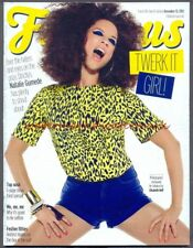 NATALIE GUMEDE - Cover & Photo Feature in FABULOUS Magazine, Dec 2013. Free Post