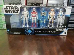 Star Wars Celebrate the Saga Vintage Collection Galactic Republic Set - IN STOCK
