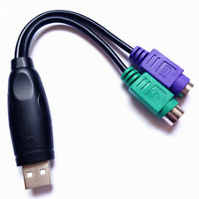 USB Male to PS2 Female Active Converter Connector Cable Adapter - Mouse Keyboard