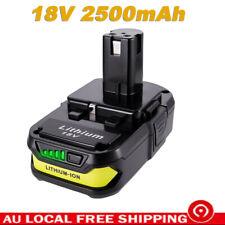4X18V 6.0Ah Battery for Ryobi ONE+ RB18L25 RB18L50 P108 P107 P104 P780 P108 P102