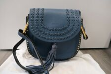 Chloe Hudson blue Leather calfskin Crossbody Bag near new condition