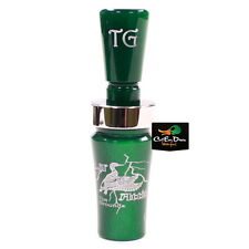 Tim Grounds Lil Attitude Mallard Hen Duck Call Emerald Sapphire Green Acrylic