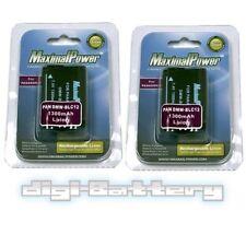 2x Battery For Panasonic DMW-BLC12 Camera Battery Lumix DMC-FZ200 DMC-FZ1000 x2