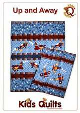 UP & AWAY QUILT PATTERN, Fusible Applique Airplane Quilt From Kids Quilts NEW