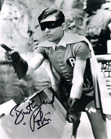 BURT WARD SIGNED AUTOGRAPHED 8x10 PHOTO BATMAN & ROBIN RARE BECKETT BAS