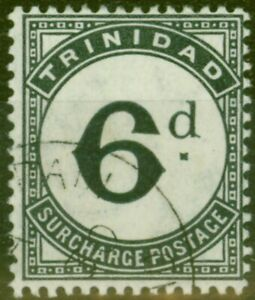Trinidad 1905 6d Slate-Black SGD15 Fine Used