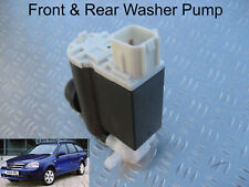 Front & Rear Windscreen Washer Pump Chevrolet Lacetti Estate 2005 to 2011