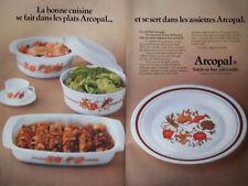 PUBLICITÉ DE PRESSE 1978 - ARCOPAL DÉCOR POT-AU-FEU JOLI A TABLE - ADVERTISING