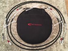 Stereovox LSP-600 XL speaker cables 2x 1.5m