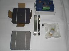 "CELULA SOLAR x40 4"" Kit placa solar (P=60w) + reg12v 8Amp + EVA 2 hojas(47cmx1m)"