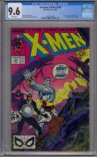 UNCANNY X-MEN #248 CGC 9.6 1ST JIM LEE ON X-MEN WHITE PAGES