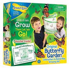 Butterfly Garden Kit Live Educational Butterflies Grow Cup of Caterpillars Kids