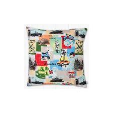 Polyester Patchwork Vintage/Retro Decorative Cushions