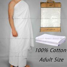 Towel Ihram Al Othalman 100% Cotton Adult 2 Piece Cloth Hajj Umrah Ehram 1.6kg