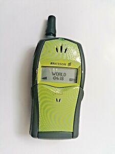 ☆ Ericsson T20s Grün Handy Dummy Attrappe ☆ retro mobile ☆ Vintage ☆ Sammler