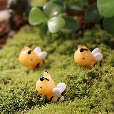 10pcs Creative Miniature Micro Landscape Resin Lovely Honey Bee Gardening Decor