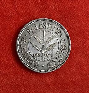 Palestine 50 Mils 1931 Grade EF