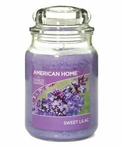 ☆☆SWEET LILAC☆☆YANKEE CANDLE JAR~ FREE FAST SHIPPING☆☆HOME INSPIRATION