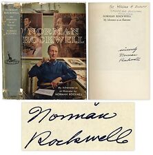 Norman Rockwell Autobiography Signed ''Illustrator''