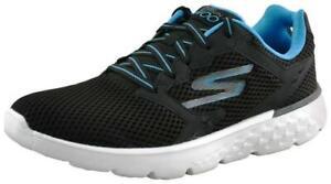Skechers Men Go Run 400 Black Running Shoes Running Shoes ( Black-K7a