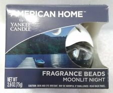 Yankee Candle American Home Fragrance Beads - Moonlit Night -Brand New Sealed