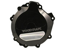 WOODCRAFT 2006-2010 KAWASAKI ZX10R LEFT SIDE ENGINE STATOR COVER WITH SKID PAD
