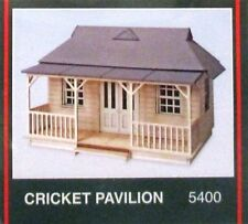 Modelscene 5400 Cricket Pavilion Wood/Plastic Kit 00 Gauge =1/76th Scale 1stPost