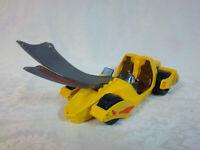 "Rare Bandai Motoraptor Loose Action Figure 2004 BEI-Xebec 12"" Dinosaur Car Toy"