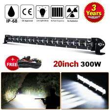 20inch 300W LED LIGHT BAR COMBO Offroad TRUCK DRIVING 4X4WD WITH FREE Wiring Kit