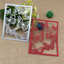 Metal Butterfly Cutting Dies Stencil Scrapbooking Card Paper Embossing Craft DIY