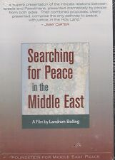 Searching for Peace in the Middle East - Film by Landrum Bolling (DVD) - New!