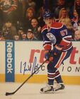 DAVID PERRON SIGNED NEW! EDMONTON OILERS ACTION 8x10 PHOTO W/PROOF COA AUTHENTIC