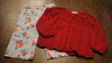 JANIE AND JACK 2T A DOZEN ROSES CAPRIS PRECIOUS HOLIDAY SWEATER