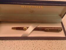 WATERMAN EXCLUSIVE  LACQUER MARBLE COGNAC  & GOLD TRIM 0.7mm  PENCIL  NEW IN BOX