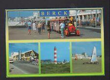 BERCK-PLAGE (62) CHAR à VOILE Sportif & PETIT TRAIN TOURISTIQUE en 1995