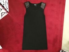 Milk & Honey Womens Dress Ruby Rose Black 8 Small Studded Casual Party Dressy