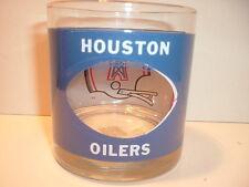 1970 Houze Art Houston Oilers see  thru Football Helmet Glass