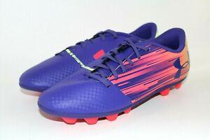 UA Under Armour Spotlight DL FG-R Jr Soccer Cleats Size 5Y Purple 1289544 500