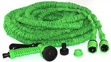Gartenschlauch flexibel grün 30m dehnbar Aufroller Wasserschlauch mit Handbrause