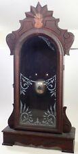 Antique New Haven Parlor Kitchen Shelf Clock Case Parts Repair