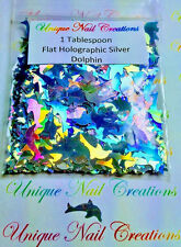 Solvent Resistant Holographic DOLPHIN~1 Tablespoon~Nail Art~ Arts & Crafts~USA