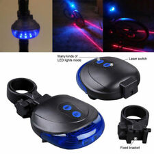 Rear Cycling 5 LED Light with Tracking Laser – for Safe Christmas Cycling