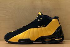 Nike Shox BB4 Black University Gold Yellow Mens Multi Size Shoes AT7843-002 NEW