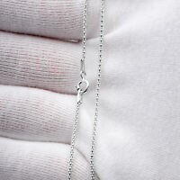Strong 925 Sterling Silver Necklace Chain Popcorn 1.5mm thick Various lengths