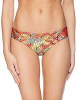 LULI FAMA cristallyzed ruched back bottom Bikini-Slip Slip VIVA CUBA NEU