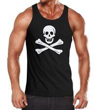 Señores manga pirata Skull Jolly Roger Edward England carnaval fun-Shirt